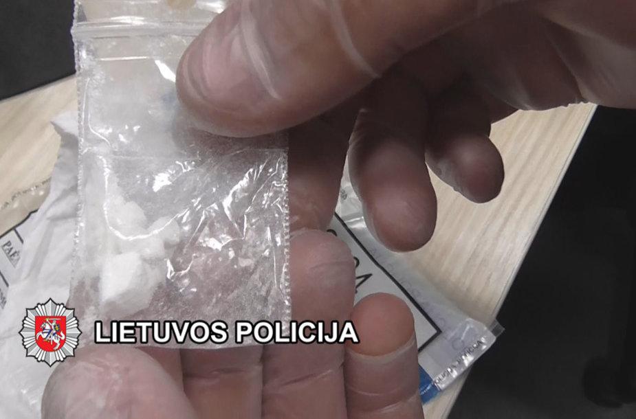 Klaipėdoje baigtas galimo kokaino platinimo lošimo namuose tyrimas