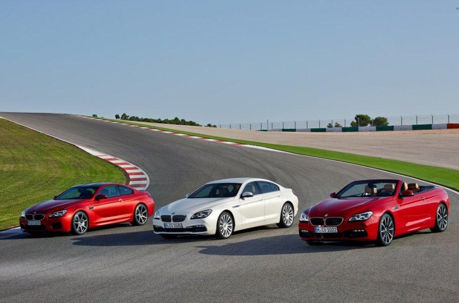 Atnaujinti 6 serijos BMW