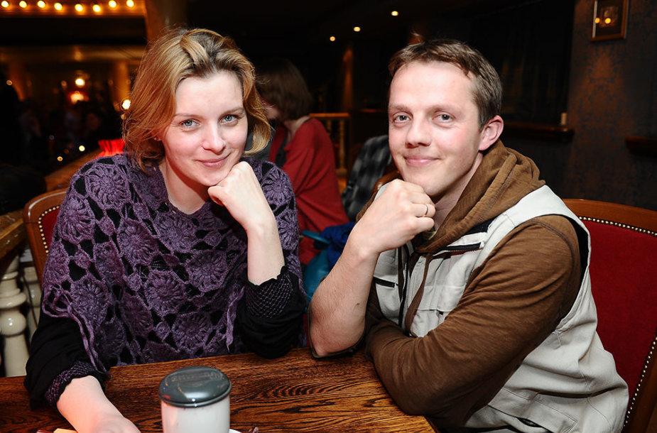 Eglė Driukaitė ir Vilius Alesius