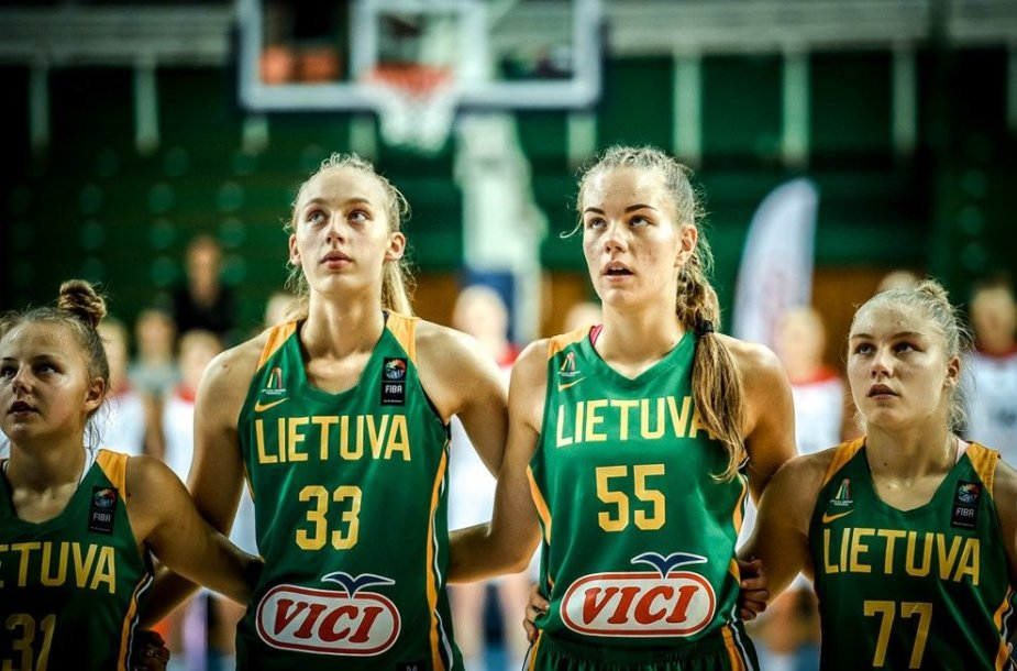Lietuvos jaunučių merginų krepšinio rinktinė