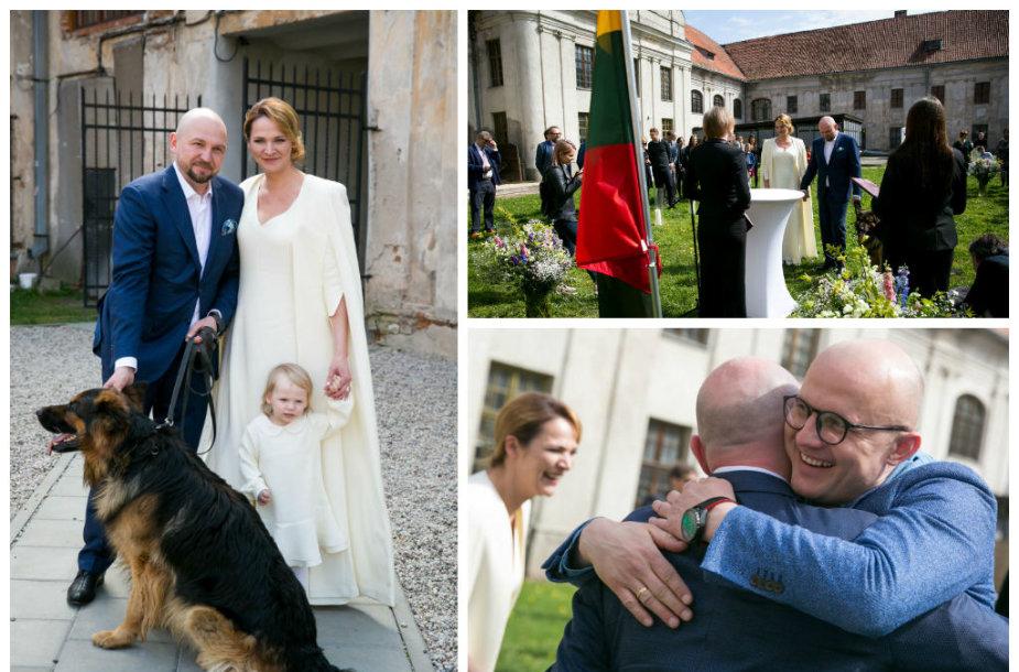 Editos Kabaraitės ir Sauliaus Jovaišo vestuvių akimirkos