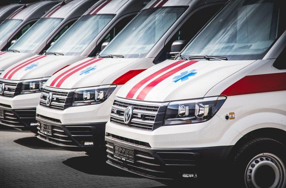 """""""Altas komercinis transportas"""" greitosios pagalbos automobiliai"""