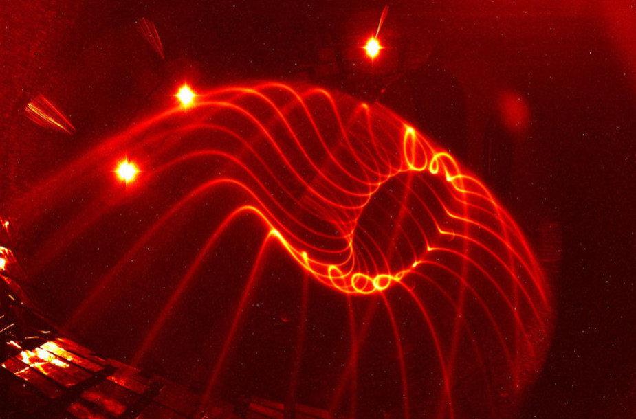 Magnetinių laukų linijos stelaratoriuje