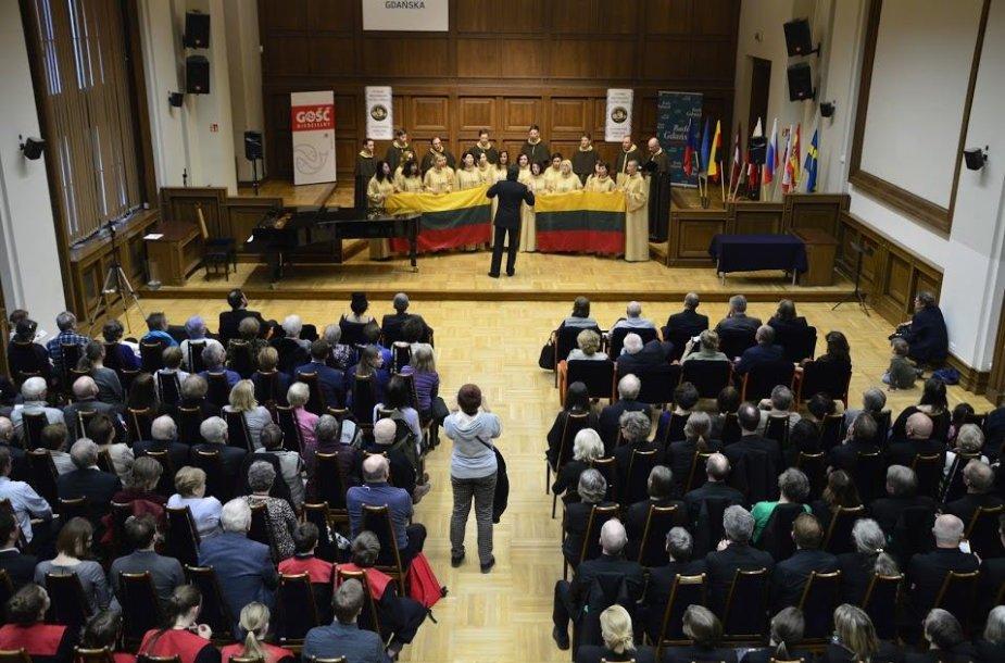 Tarptautinis chorinės muzikos festivalis Gdanske.