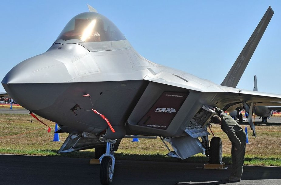 """F-22 Raptor"" naikintuvas"