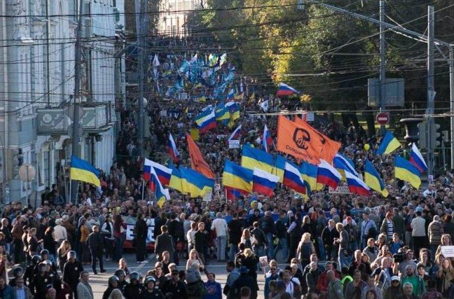 Maršo dalyviai