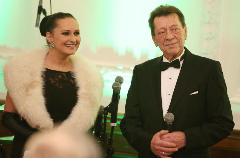 Inga Budrienė ir Stasys Povilaitis