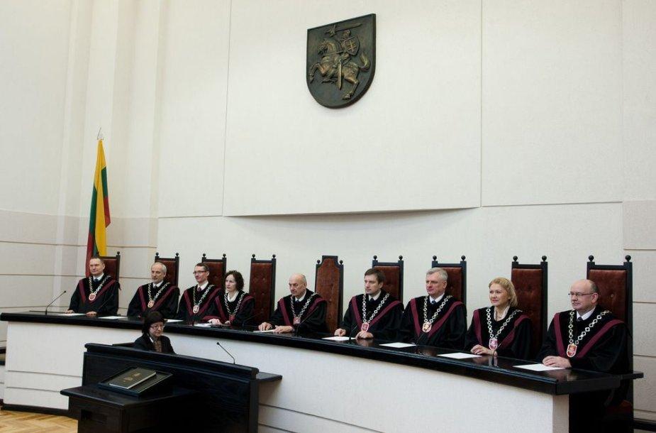 Konstitucinio Teismo teisėjų kolegija