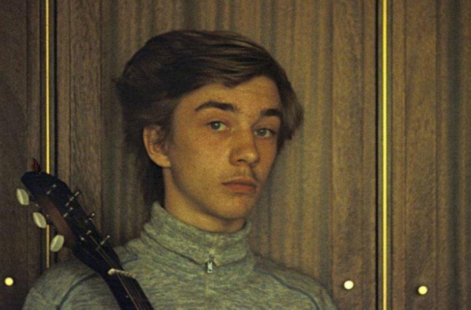 Andrius Mamontovas jaunystėje