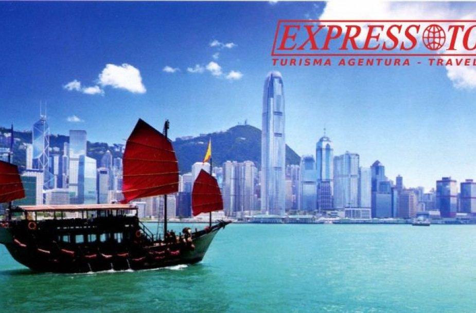 """""""Express Tours"""" prekinis ženklas naudojamas ne tik Lietuvoje, bet ir Latvijoje"""