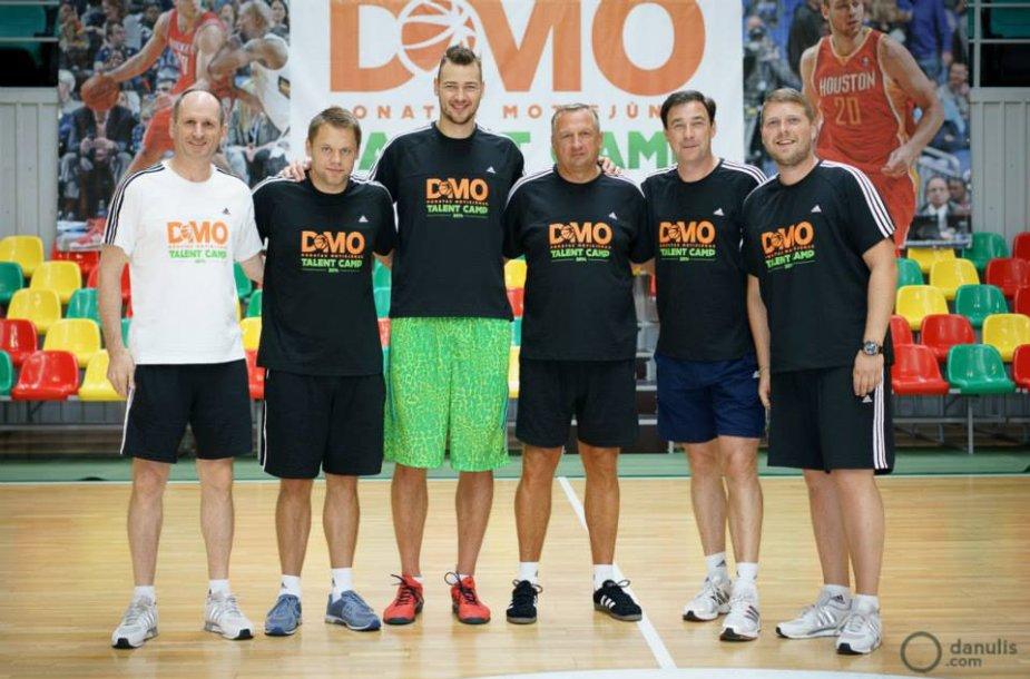 """Donatas Motiejūnas """"D-Mo Talent camp"""" stovykloje"""