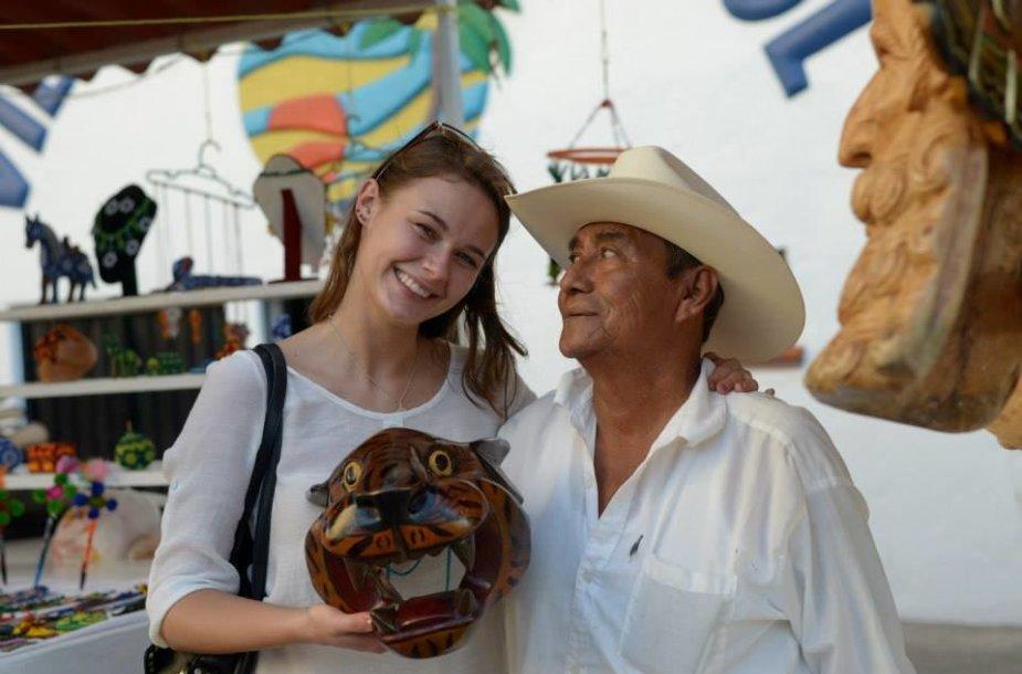 Gertrūdos gyvenimas Meksikoje