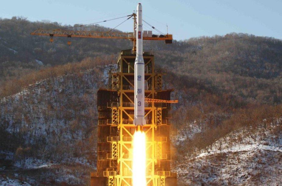 Raketos paleidimas