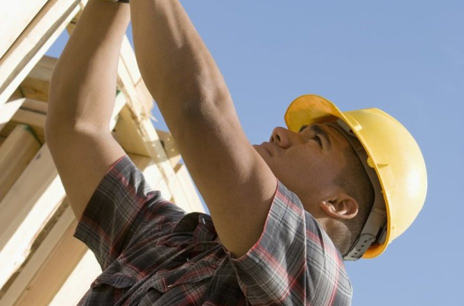 Statybininkas (asoc.nuotr.)