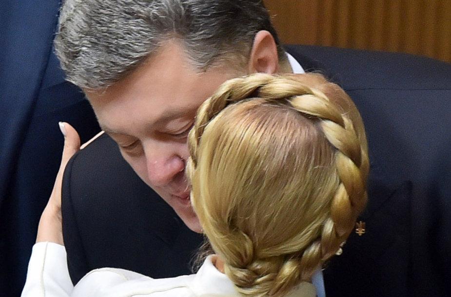 Petro Porošenka ir Julija Tymošenko