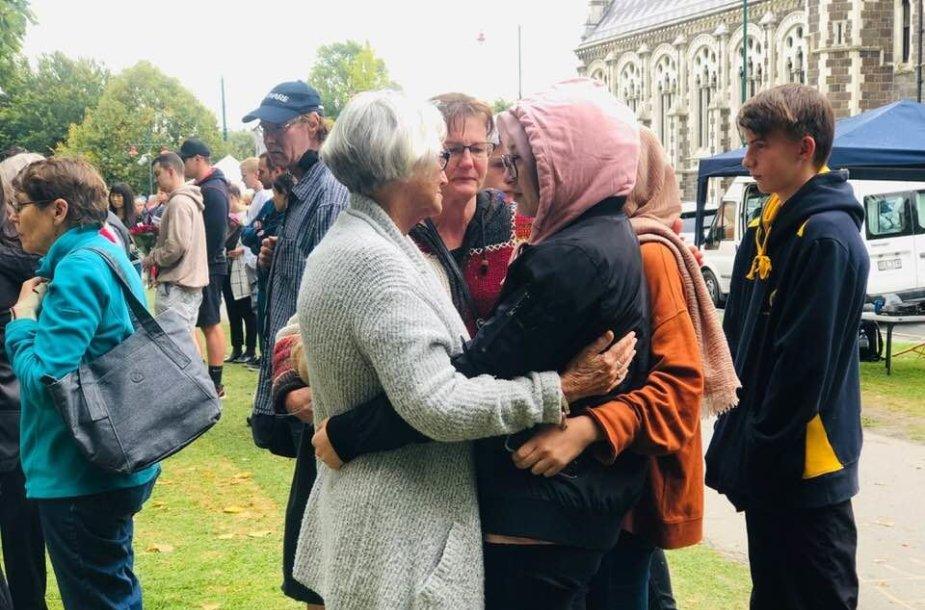 Po šaudynių N.Zelandijoje