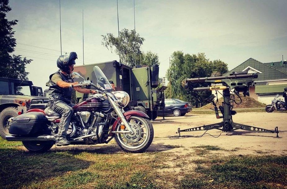 """Mototurizmo ralis"" Oro gynybos batalione"