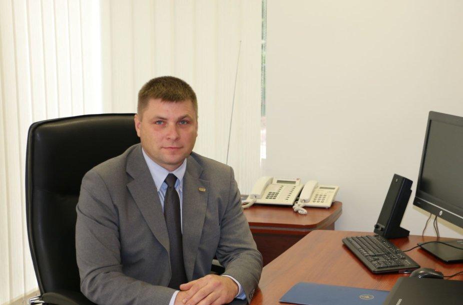 STT Šiaulių valdybos viršininkas Vaidas Pupelis