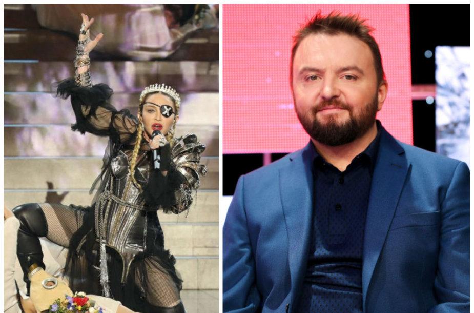 Madonna ir Stanislovas Stavickis-Stano