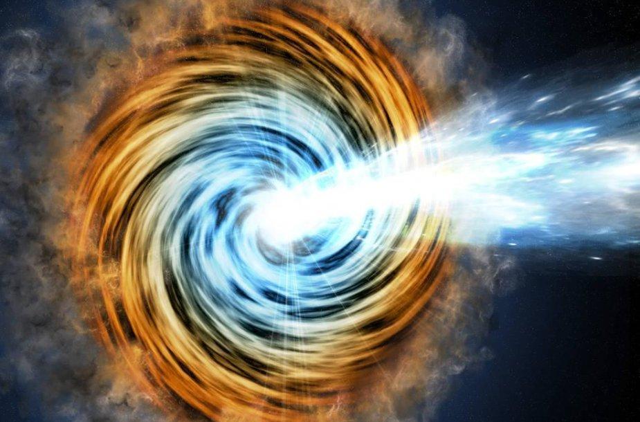 Blazaro galaktikos piešinys