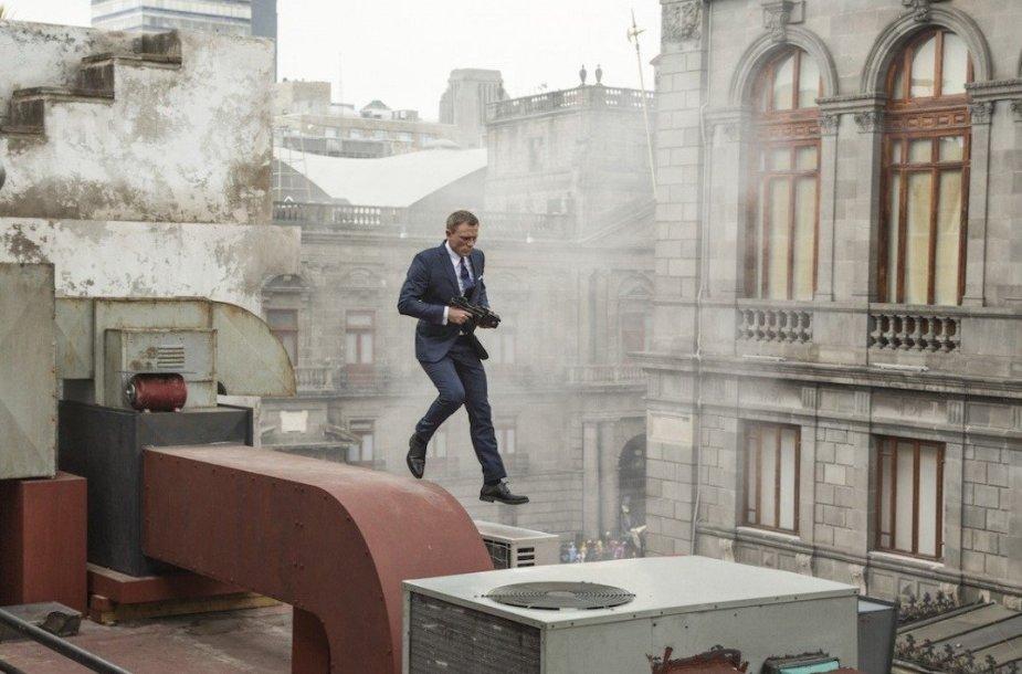 "Danielis Craigas filme ""Spectre"""