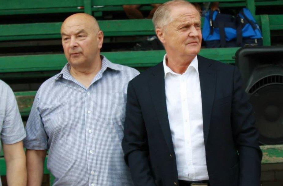 Leonas Dunauskas ir Julius Kvedaras
