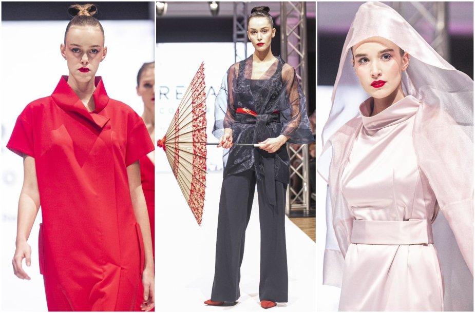 """""""Reda Couture"""" kolekcijos pristatymo modeliai"""