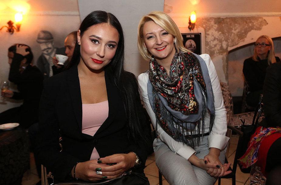 Gabrielė Grygolaitytė ir Viktorija Mauručaitė