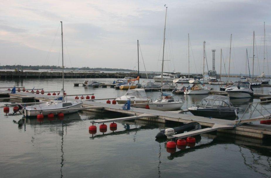 Talino uostas pritaikytas jachtoms