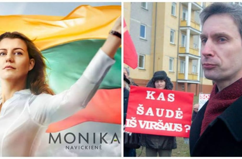 Antrajame ture Naujojoje Vilnioje susirungs Monika Navickienė ir Algirdas Paleckis