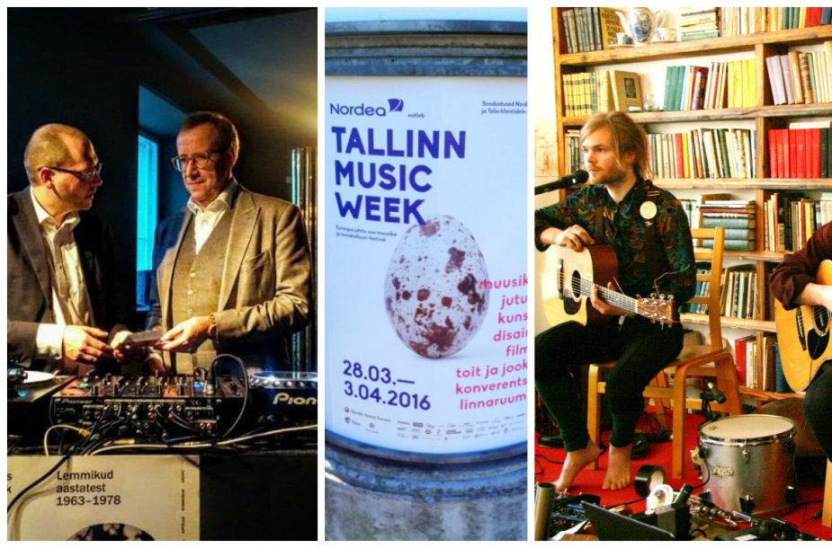 """""""Tallinn Music Week"""" akimirkos"""