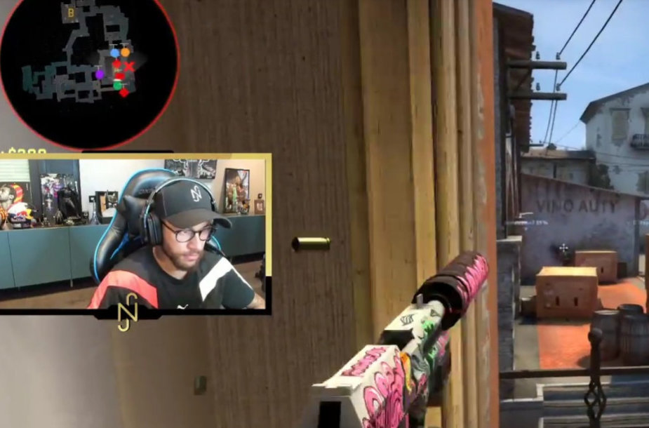 Neymaro pasirodymas CS:GO žaidime