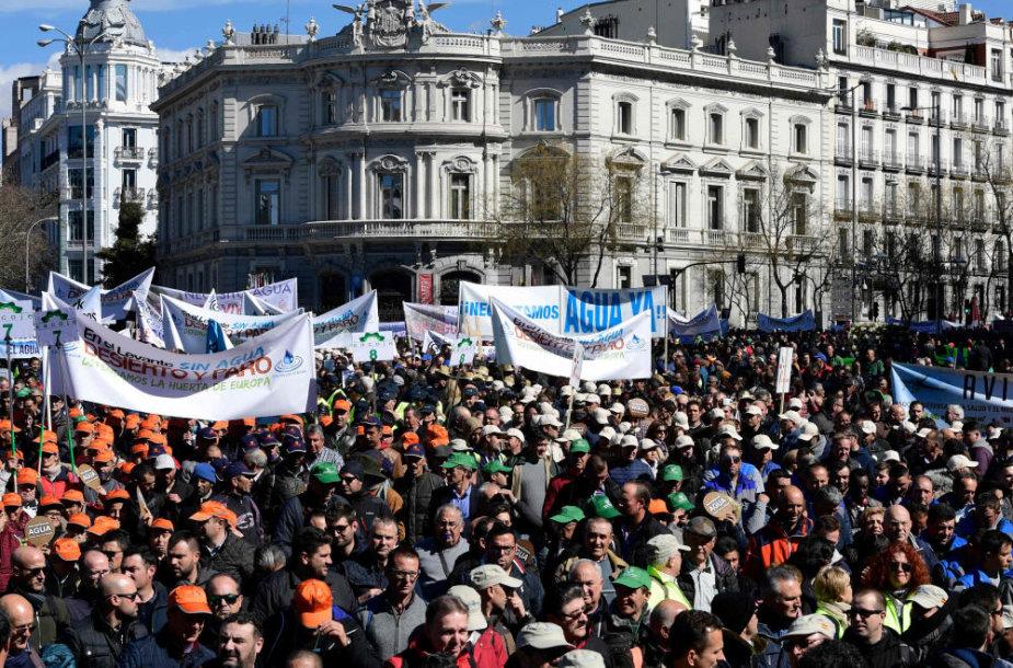 Ūkininkų eitynės Madride