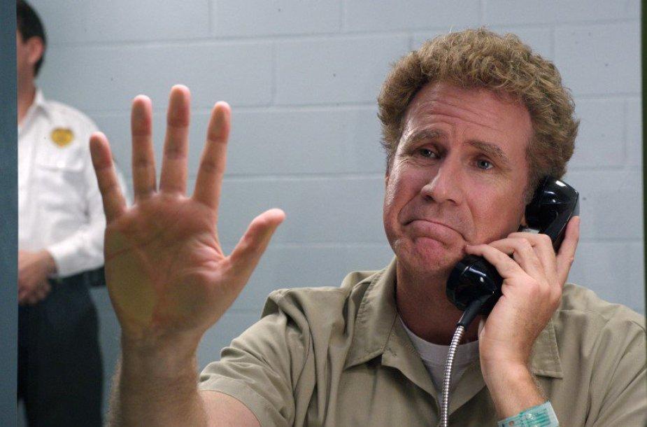 """Willas Ferrellas komedijoje """"Būk kietas"""""""