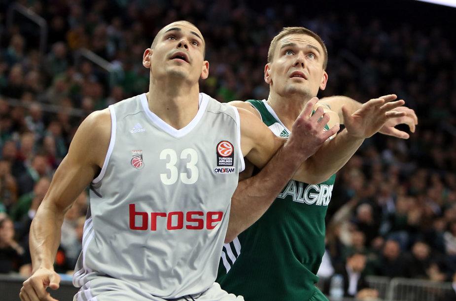 """Kauno """"Žalgiris"""" – Bambergo """"Brose Baskets"""""""