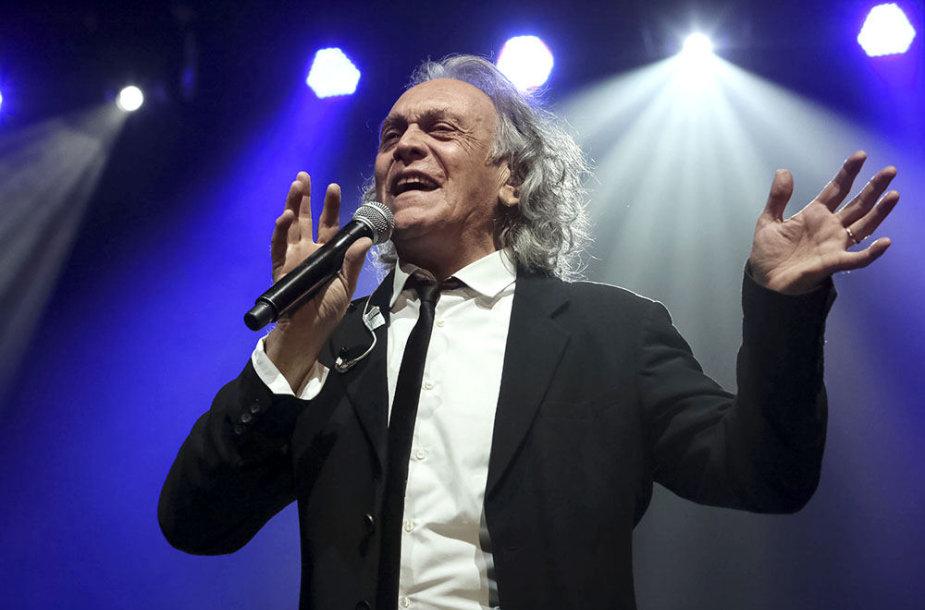 Riccardo Fogli koncertas Kaune