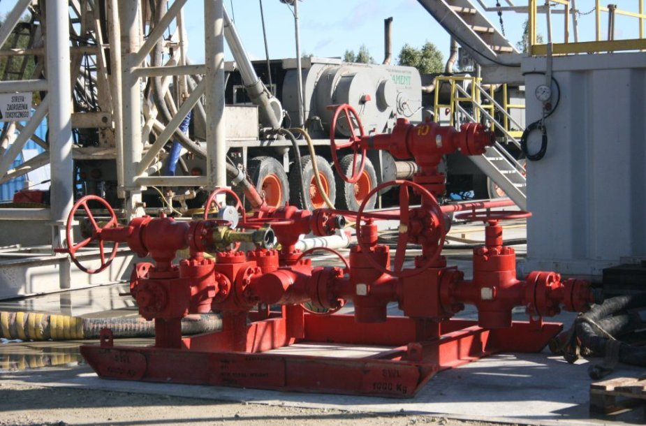 Syderiuose norima įrengti suskystintų gamtinių dujų saugyklą
