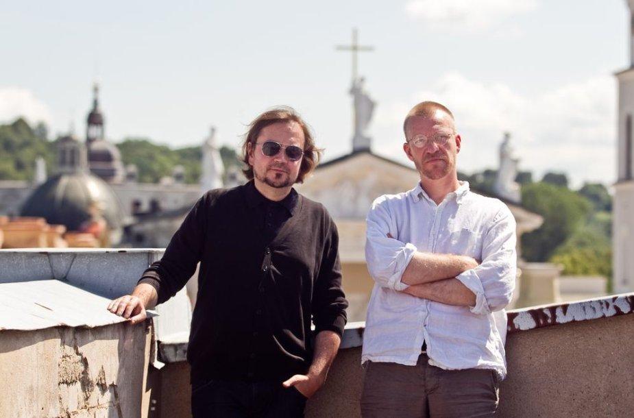 Oskaras Koršunovas ir Martynas Budraitis