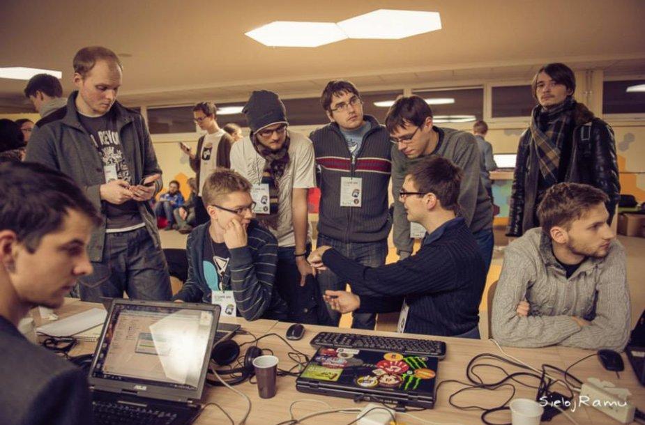 Žaidimų kūrimo maratonas Game Jam 2014 buvo rekordinis Lietuvos istorijoje