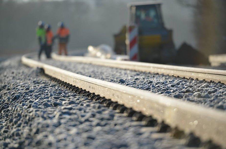"""""""Rail Baltica"""" tiesimas"""