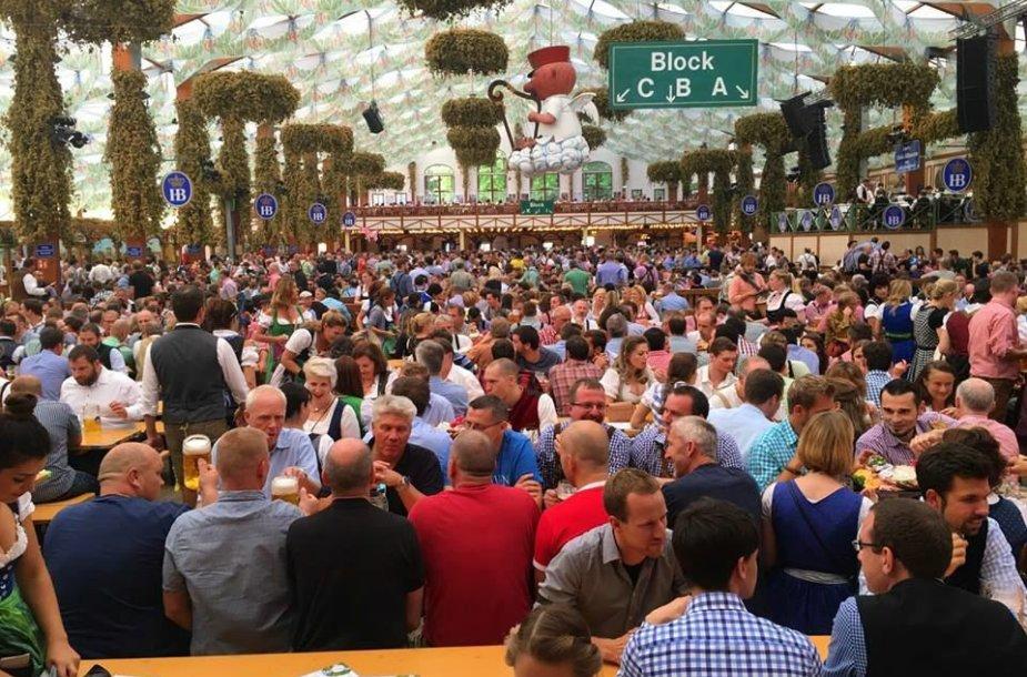 Alaus festivalyje kasmet apsilanko milijonai žmonių