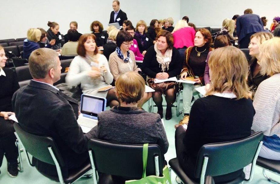Kūrybiškumas turi tapti ne tik mokytojų ir mokinių santykių, bet ir visos mokyklos sistemos dalimi.