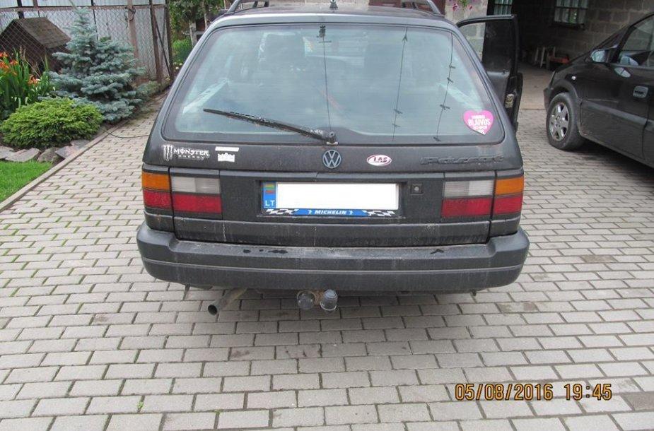 "Girto kelių erelio ""VW Passat"""