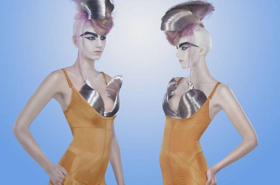 Deimantės Dubinaitės šukuosenų modeliai