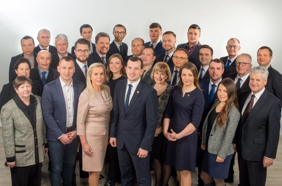 LVŽS kandidatai Vilniuje