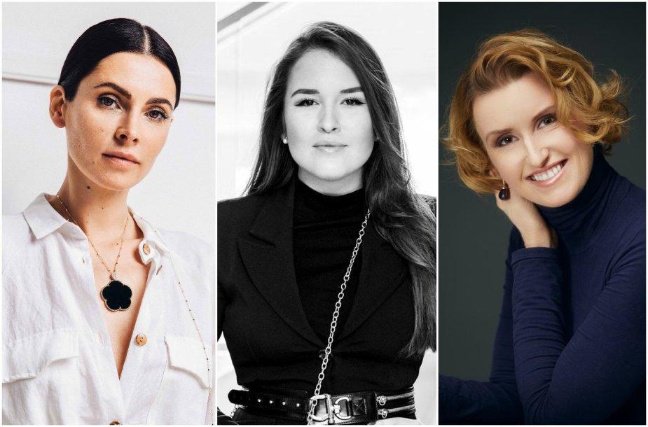 Agnė Jagelavičiūtė, Marija Palaikytė ir Vaida Kurpienė