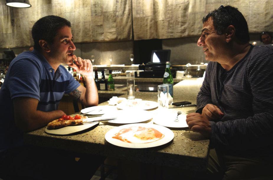 """Filmas """"Izraelio virtuvės beieškant"""" stop kadras"""
