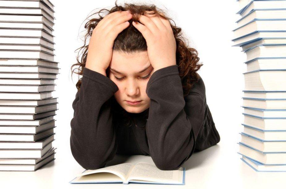 Vaikas nenori mokytis. Ką daryti?