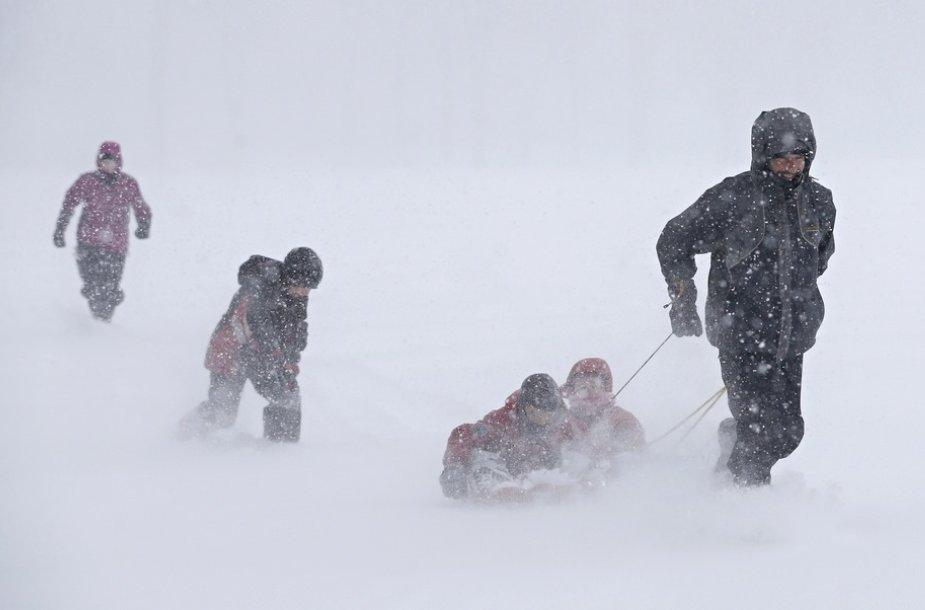 Sniegas Kanadoje