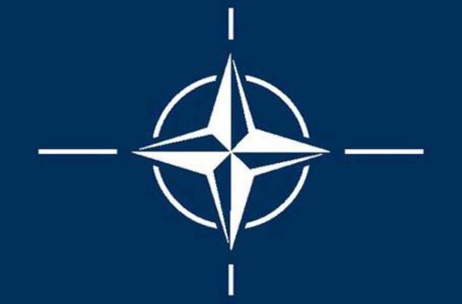 Эмблема НАТО.